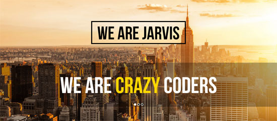 Jarvis-wp-theme