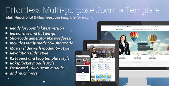 effortless-multipurpose-joomla-template
