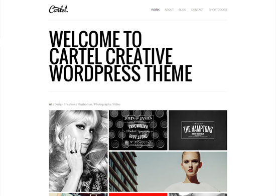 Cartel-WordPress-Theme