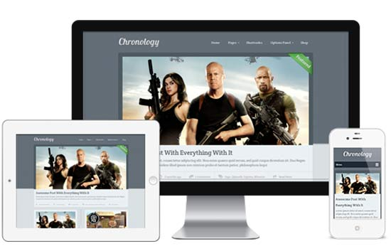 Chronology-WordPress-Theme