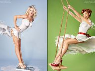 High Speed Photography: Dresses Made Out of Milk