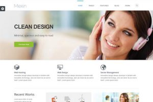 Mexin-WordPress-Theme