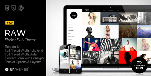 Raw-WordPress-Theme