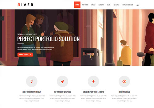 River-WordPress-Theme
