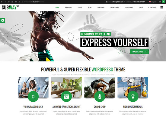 Subway-WordPress-Theme
