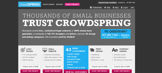 crowdSPRING-Online-Marketplace
