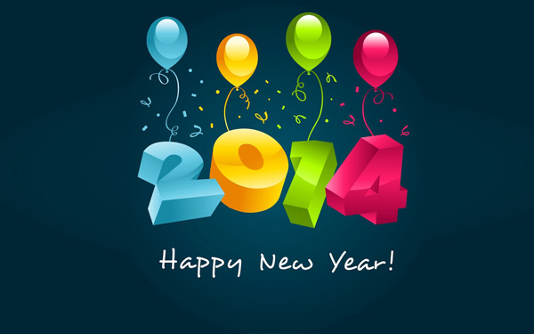 Beautiful-Text-Happy-New-Year-Card-2014