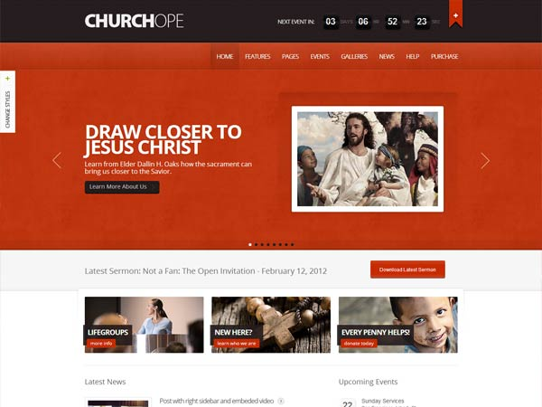 Churchope-Premium-WordPress-Theme