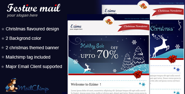Festive mail Email Template