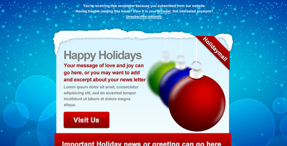 Holiday-Mail