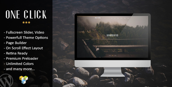one-click-parallax-one-page-wordpress-theme