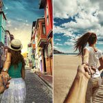 Photographer Continues to Follow His Girlfriend Around The World