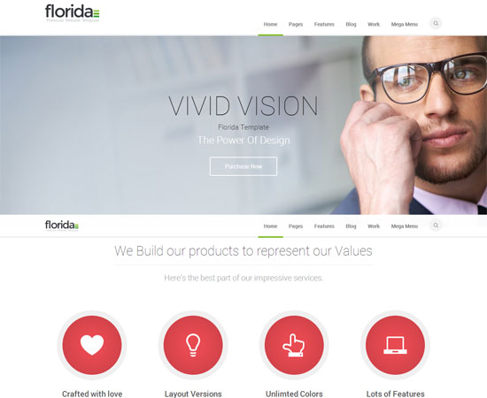 Florida-Professional-Wordpress-Theme