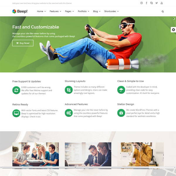 Beep-Multi-Purpose-Wordpress-Theme