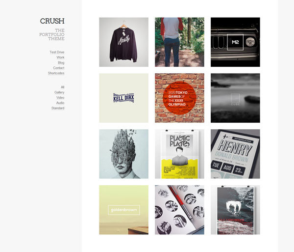 Crush-Portfolio-Theme