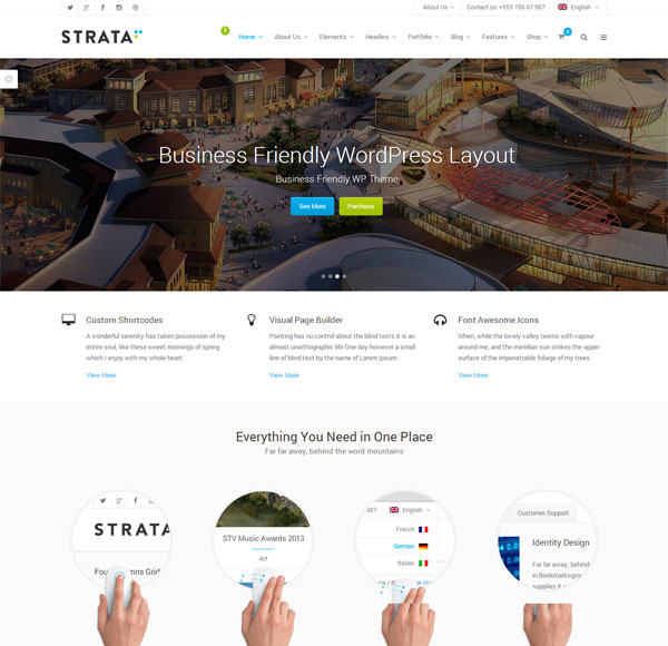 Strata-Professional-Multi-Purpose-WordPress-Theme