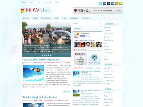nowmag-free-wordpress-theme