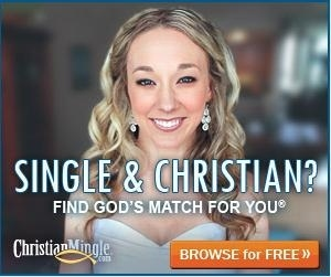 Christian Mingle banner ad