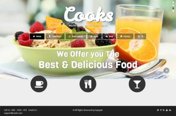 Cooks-Restaurant-WordPress-Theme