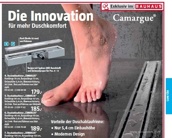 German hardware ad
