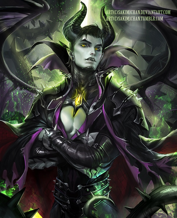 Maleficent from Sleepy Beauty-Popular Cartoon Characters