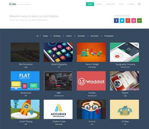 25 free html and css templates of 2014