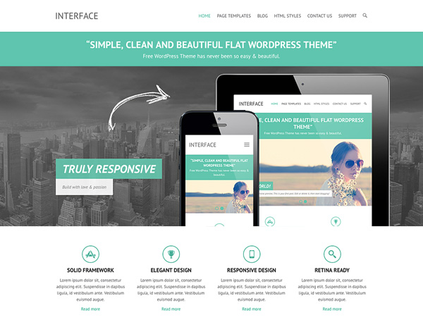 Interface-free-wordpress-theme