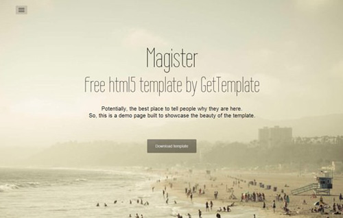 Magister-HTML5-Coming-Soon-Template