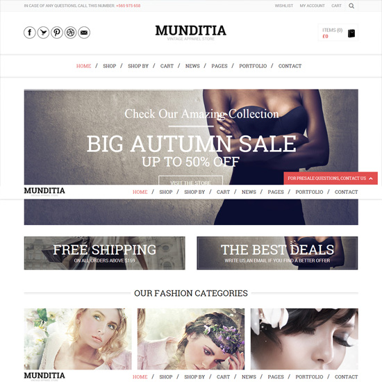 Munditia-Woocommerce-shop