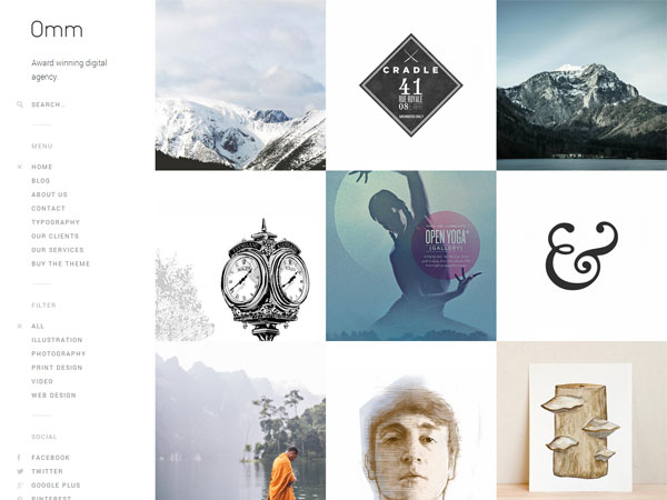 Omm-WordPress-Portfolio-Theme