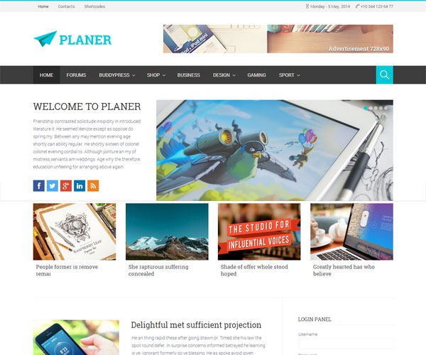 Planer-Responsive-WordPress-Magazine-Theme