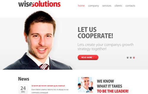 Zwisesolutions-Responsive-Cross-Browser-Template