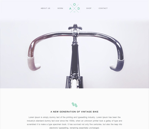 bicycle-flat-free-html5-css3-template