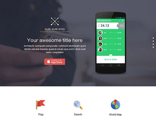 bootstrap-3-single-page-template