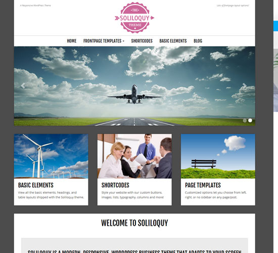 free-wordpress-theme-Soliloquy