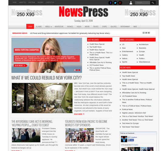 free-wordpress-theme-newspress