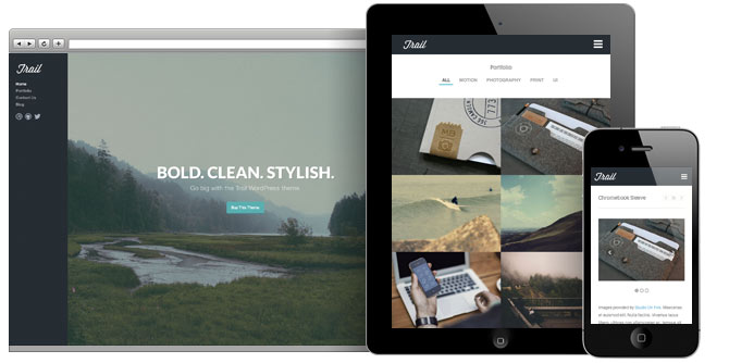 trail wp theme