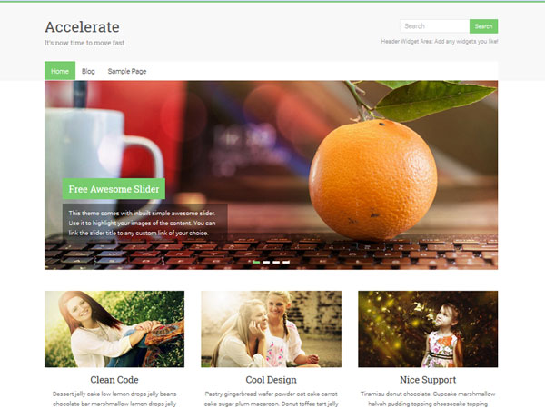 Accelerate-WP-Theme