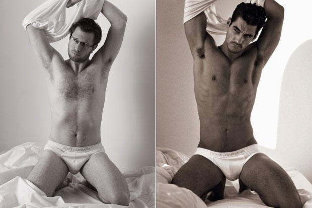 Dolce Gabbana John Doe vs David Gandy
