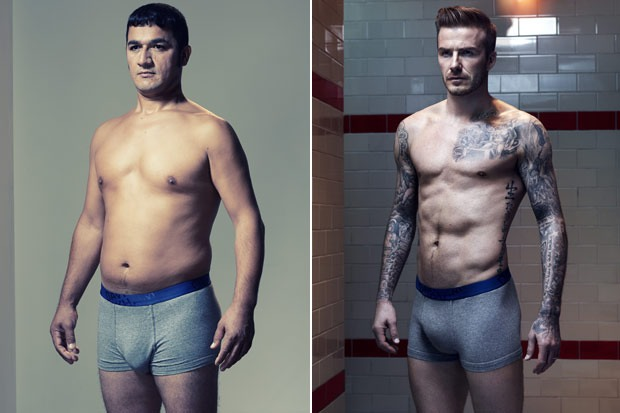 H&M John Doe vs David Beckham