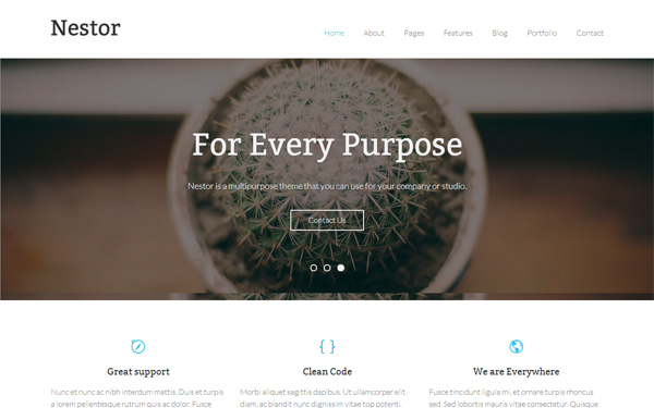 Nestor-WordPress-Theme