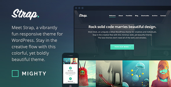 Strap-WordPress-Portfolio-Theme