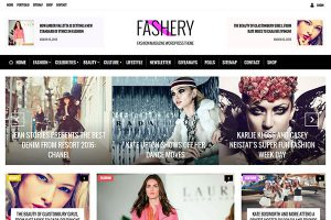 Fashion Magazine WordPress Theme Fashery