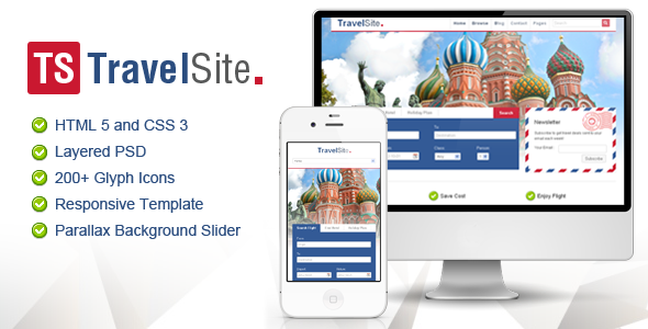 TravelSite HTML Template