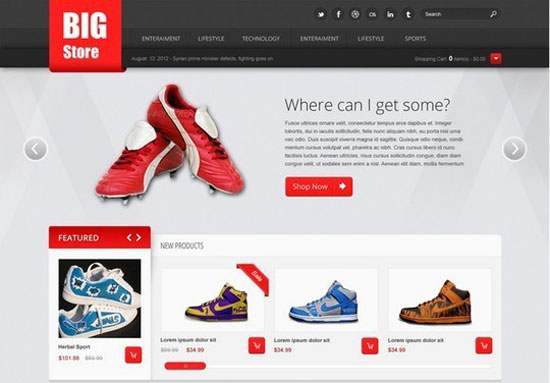 Big-Store-Free-eCommerce-Psd-Website-Template