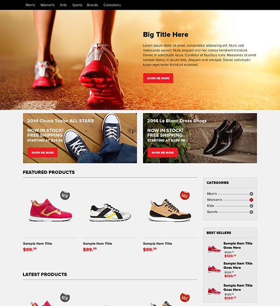 Ecommerce-Home-Page-PSD-Free-Download