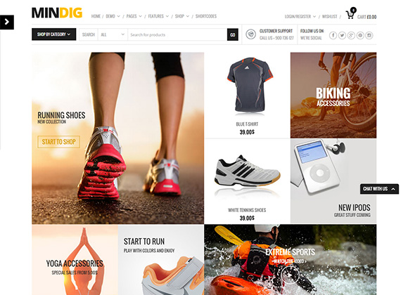 Mindig-WordPress-Theme