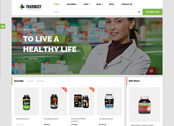 Pharmacy-WordPress-Theme
