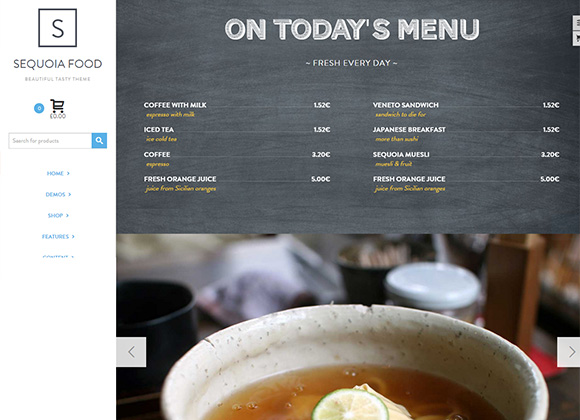 Sequoia-Food-Beautiful-tasty-theme