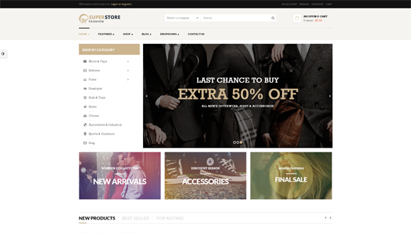 SuperStore wordpress-ecommerce-themes